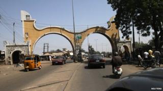 Bauchi city gate
