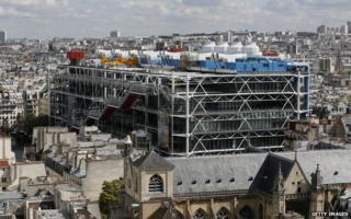 Pompidou Centre (file pic 2014)