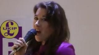 Mandy Boylett singing Chiquitita