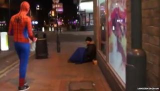 Birmingham Spiderman