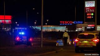 Bomb scare at Great Yarmouth Tesco