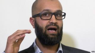 Cage's research director Asim Qureshi