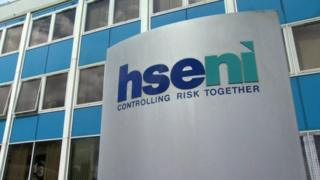 Health and Safety Executive for Northern Ireland (HSENI) sign