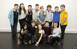 Cast of the musical
