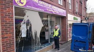 UKIP office in Kidderminster