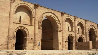 Hatra ruins (file picture)