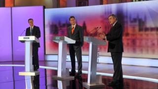 Leaders' debate in 2010