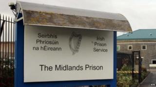 Midlands Prison sign