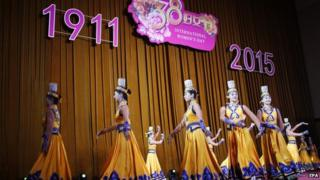 Several performances were organised to mark the Women's Day on the sidelines of the parliament session