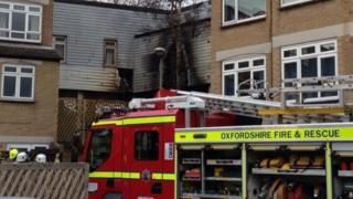 Headington fire