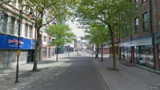 London Road in Liverpool