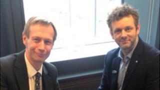 Michael Sheen and David Cornock