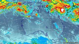 Two low-pressure systems are developing of the coasts of Western Australia and Queensland