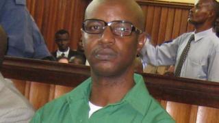 Hussein Radjabu during his trial in April 2008