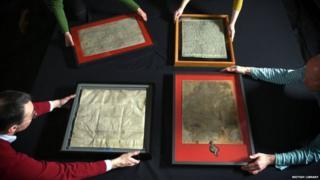 Four Magna Carta manuscripts
