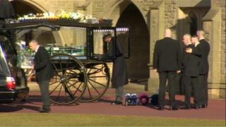 Funeral of Nathan McStay