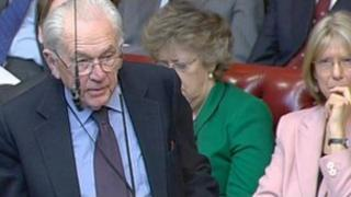 Viscount Tenby speaking in the House of Lords