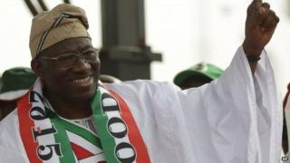 Nigeria's President Goodluck Jonathan pictured in January 2015