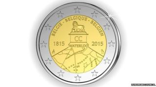 The two euro coin