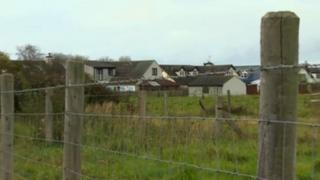 Land earmarked for development