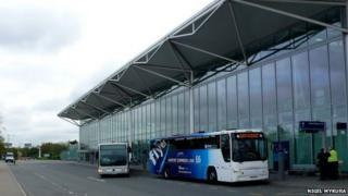 Bristol Airport by Nigel Mykura