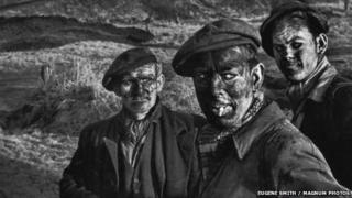 Eugene Smith's Three Generations of Miners photograph