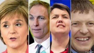Scottish leaders debate lineup