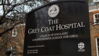 Grey Coat sign