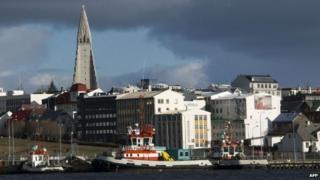 Iceland's capital Reykjavik. Photo: 25 April 2013