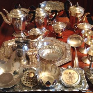 Silverware stolen during Coton robbery