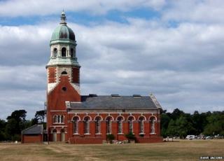 Netley Chapel at Royal Victoria Country Park