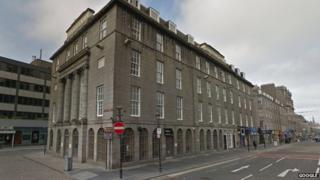 Atheneum building in Aberdeen