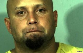 Alleged White House fence jumper Omar Gonzalez, 42, is shown in this New River Regional Jail booking photo released 23 September 2014