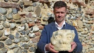 Darren Barker & 11th Century carving