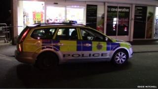 Armed raid in Shoreham