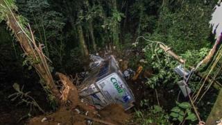 Brazil bus crash in Santa Catarina