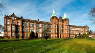 B-listed David Stow building on Jordanhill campus