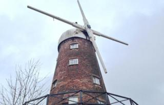 Green's Windmill in Nottingham with no sails