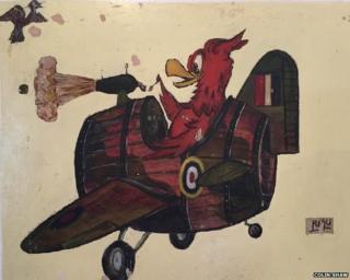 Gremlin in a plane