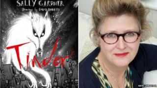 Sally Gardner and her novel Tinder