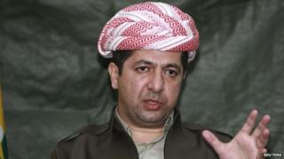 Masrour Barzani. Photo: January 2015