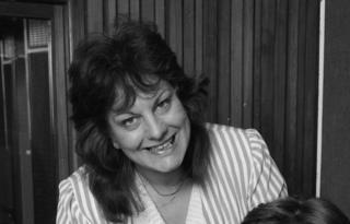 Sue Townsend in 1985