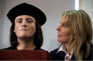 Richard III facial reconstruction and Philippa Langley