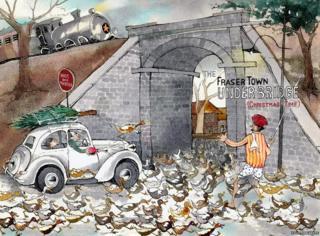 Fraser Town Underbridge