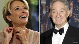 Emma Thompson and Kevin Kline