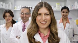 pharmacists - stock photo