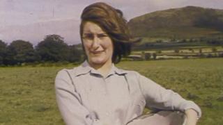 Young woman at Slemish
