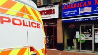 Thames Valley Police nail bar raid