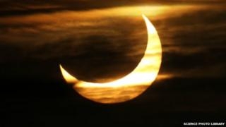solar eclipse - partial