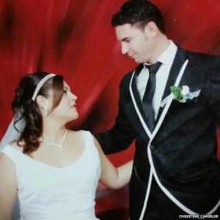 Christine Caferler and husband